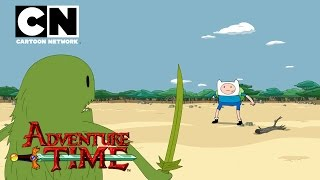 Adventure Time | Finn and the Grass Dude | Cartoon Network