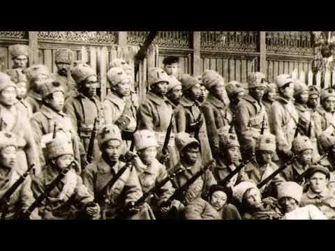 """Катайск: китайский батальон в составе """"Красных Орлов"""" 1918 год"""