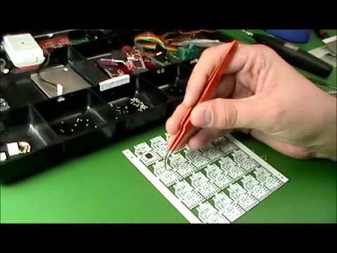 PCB / SMT solder paste, stencil printing, and reflow oven