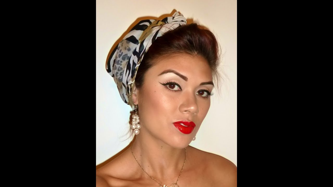 foto de Halloween; Pin Up Makeup Tutorial (sailor nurse) YouTube
