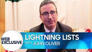 Lightning Lists: John Oliver