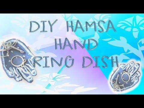 DIY Hamsa Hand Inspired Ring Dish