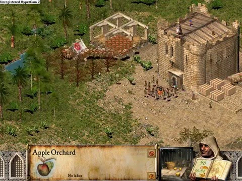 Stronghold Crusader Trick - Infinite Apple Pickers