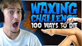 Minecraft: WAXING CHALLENGE | 100 Ways 2 Die W/ Derp SSundee