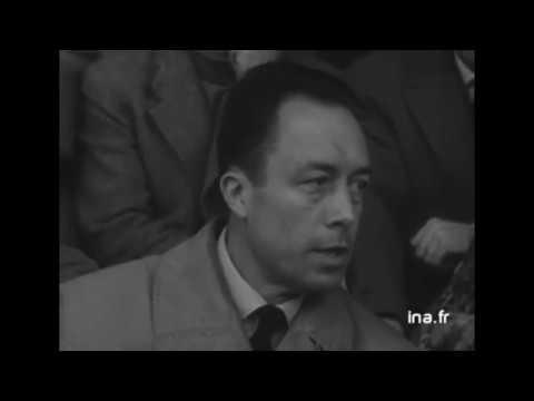 Albert Camus: Futbol Müsabakasında Röportaj (1957) | Türkçe Altyazılı (Eng Sub)