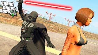 GTA 5 моды: Дарт Вейдер в GTA 5 - Звездные воины