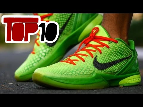 Top 10 Best Nike Kobe Shoes Of All Time
