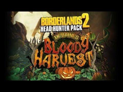 Borderlands 2 with cloud Head hunter dlc TK BAHAS BLOODY HARVEST part 1 |