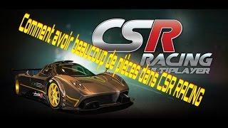 [Tuto] Avoir beaucoup de pièces dans CSR racing