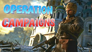 OPERATION CAMPAIGNS! In The Name Of The Tsar DLC Battlefield 1 (PS4 Pro) Multiplayer Gameplay #149