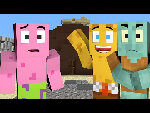 Minecraft : Spongebob Episode 1 - WELCOME TO BIKINI BOTTOM (Minecraft Roleplay)
