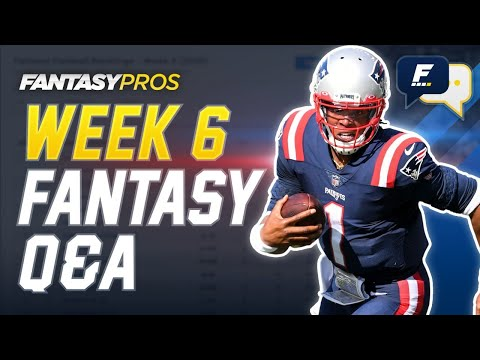 FantasyPros Live: Week 6 Q&A with Mike Tagliere (2020 Fantasy Football)