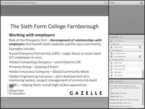 Work Experience-Related Learning for Academic Learners Farnborough College
