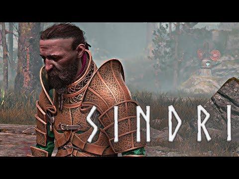 God of War - Meeting Sindri, the Germaphobic Dwarf