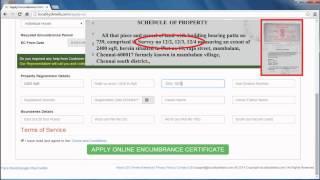 Online Encumbrance Certificate