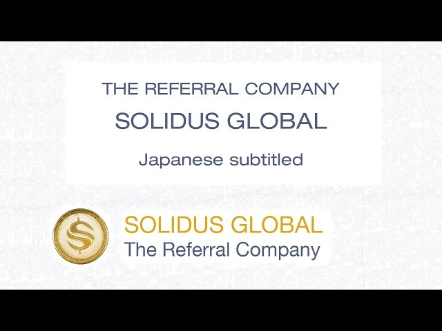 The Referral Company - Solidus Global - Japanese CC