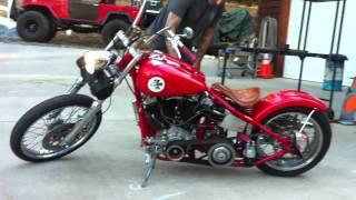 Harley Davidson Shovelhead Kick start