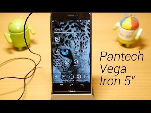 """Обзор Pantech Vega Iron 5"""": оболочка, производительность, камера и автономность"""