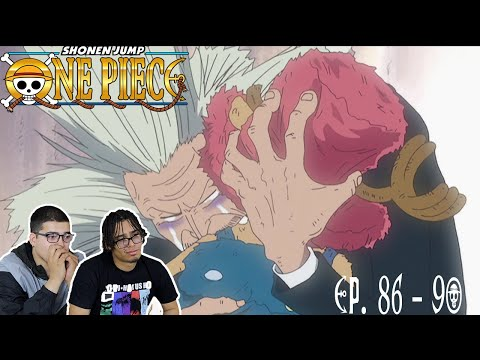 HILULUK & HIS SON❤️ ONE PIECE EP. 86 - 90 REACTION