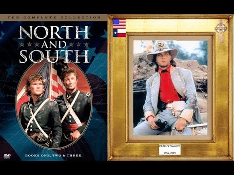 PATRICK SWAYZE 1952-2009 (north and south, 2) 1985, 1986