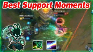 Best Support Moments - Pro Outplays Compilation | League of Legends