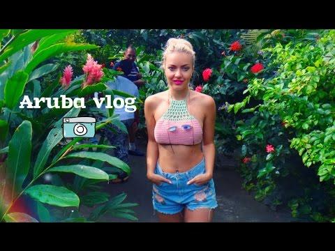 Aruba vlog: бабочковая ферма, покупки и хорошие приметы ♥ Lucky Lina