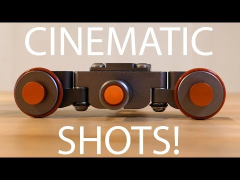 Motorized Camera Dolly and Slider = Cinematic Shots!