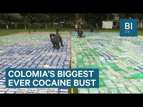 Colombia just seized 12 tonnes of cocaine worth £502m