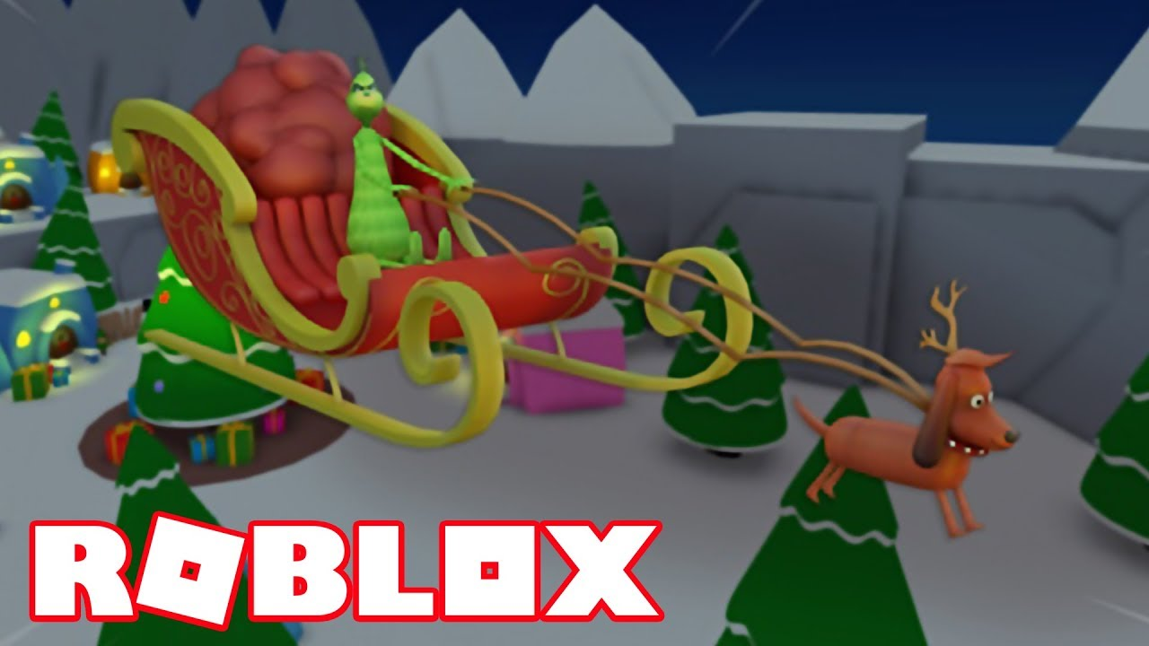 ROBLOX HOW THE GRINCH STOLE CHRISTMAS   ROBLOX THE GRINCH OBBY - YouTube