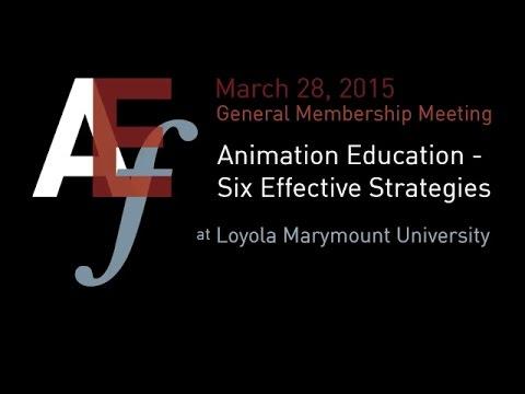 ASIFA-Hollywood's Animation Educators Forum General Membership Meeting for 2015