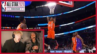 NBA All-Star Rising Stars Highlights w/ Tristan Jass & Brittney Elena