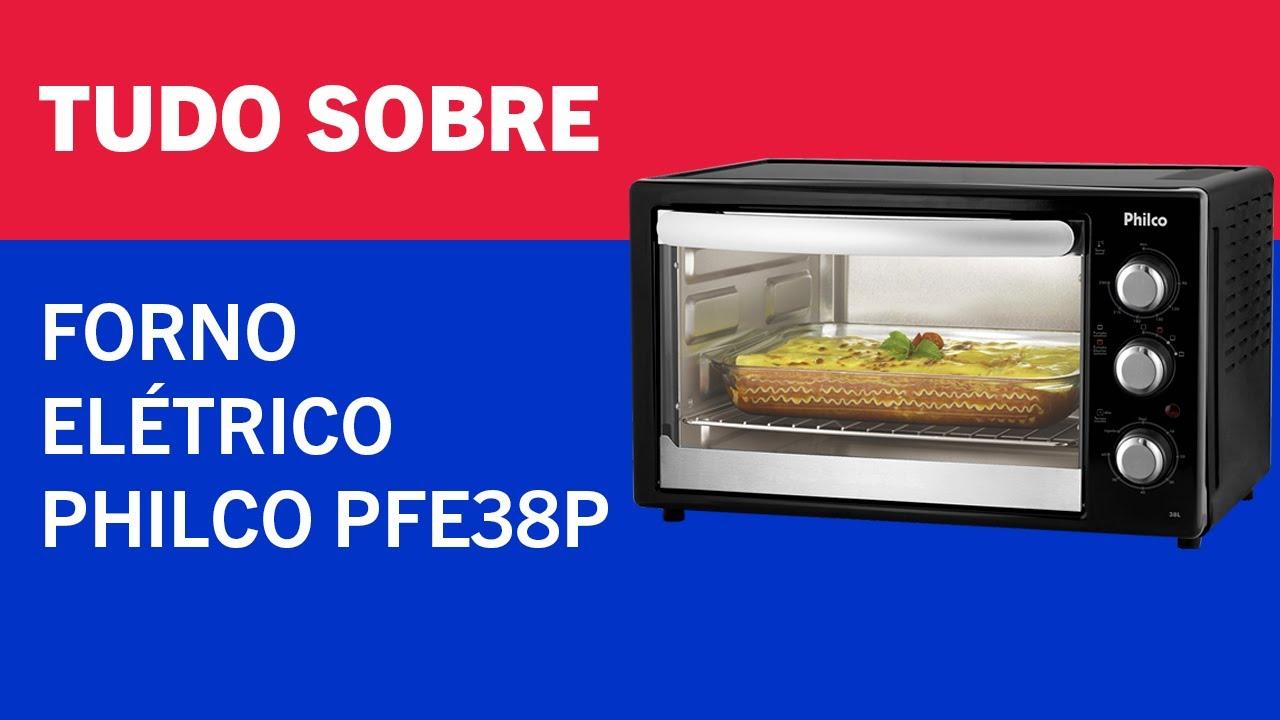 TUDO SOBRE – FORNO ELÉTRICO PHILCO PFE38P
