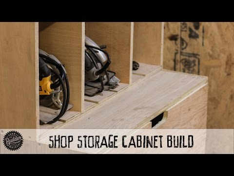 How To Build A Modular Shop Storage Cabinet