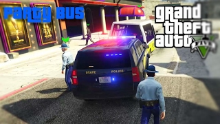 COPS ONLINE - Party Bus Mistake DRUNK TANK TIME?