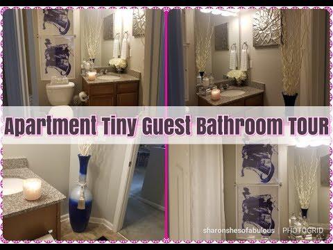 APARTMENT: Small Guest Bathroom TOUR
