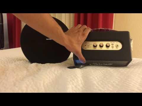 Marshall kilburn vs Harman kardon onyx studio 3 sound test