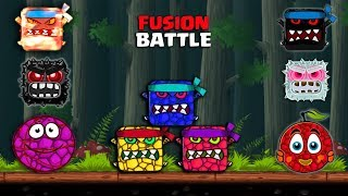 """""""ORANGEBERRY & BASKETBERRY BALL""""  Fusion Battle of Deep Forest with Ghost,Spongebob & More Bosses"""