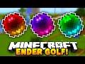 Minecraft ENDER PEARL GOLF! #2 (Funny Mini-game) w/ PrestonPlayz & The Pack