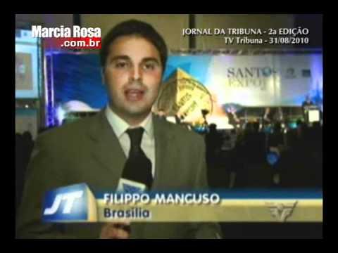 Fórum Santos Export 2010 - cobertura TV Tribuna