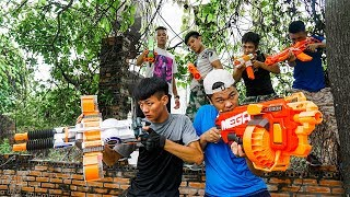 Battle Nerf War: Navy Special Nerf Guns Betrayal Group Action Movies NERF
