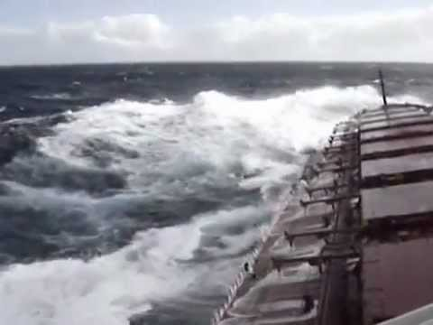 Bad weather-S.Africa passage