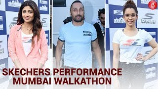 Shilpa Shetty, Sanya Malhotra & Rahul Bose Walk For Skechers Performance WALKATHON
