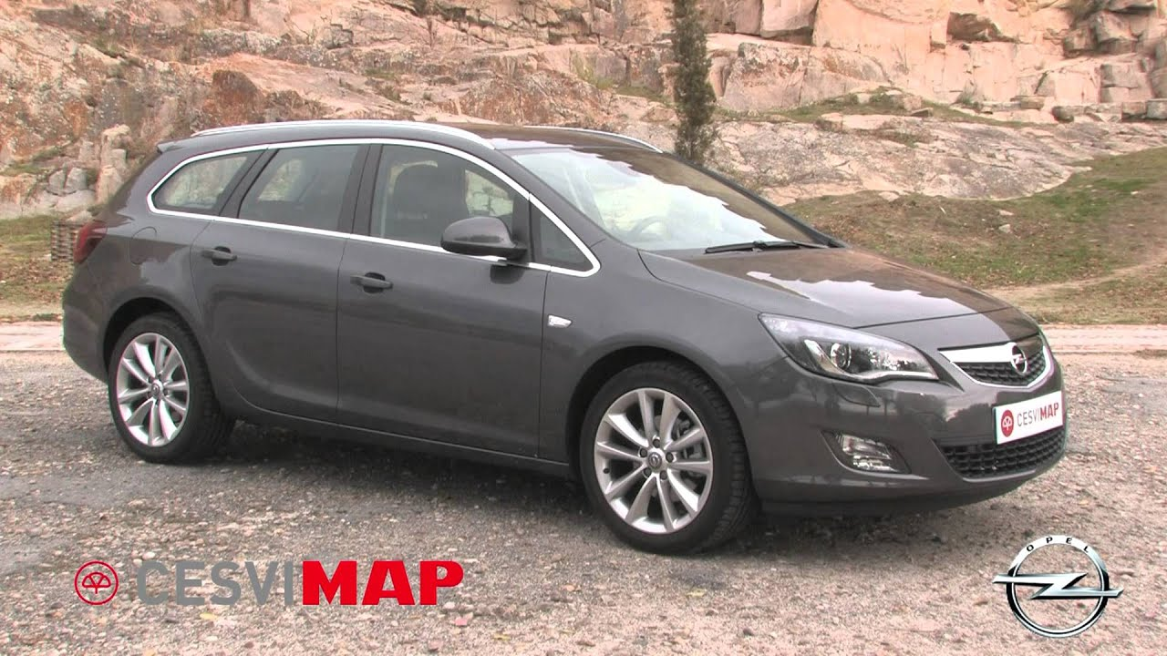 Opel Astra J Sports Tourer - YouTube