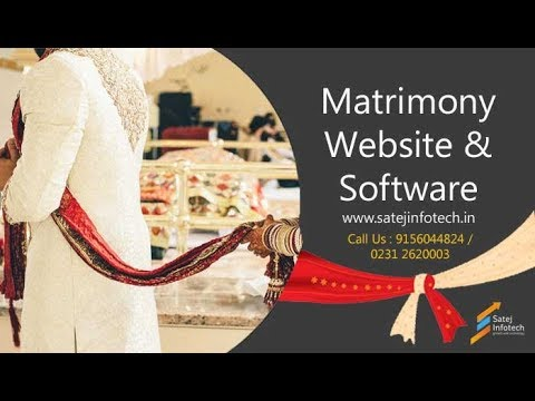 Matrimonial Website Design | Matrimony Software