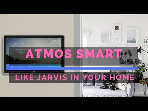 Jarvis in real lifes The Atmos Smart Home Control System