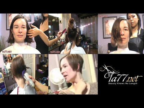 Callie SX - Pt 1: Clipper Cut Wedged Bob (Free Video)