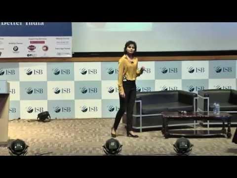 ISB Leadership Summit 2015- IGNITE Session with Yashvika Mittal