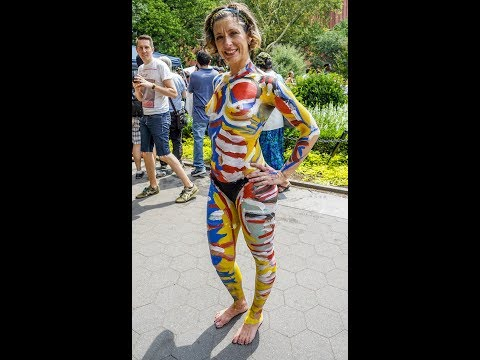 Bodypainting Day New York City
