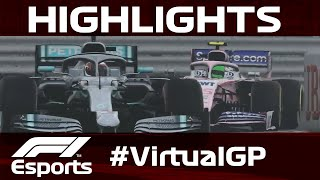 Virtual Monaco Grand Prix Highlights | Aramco