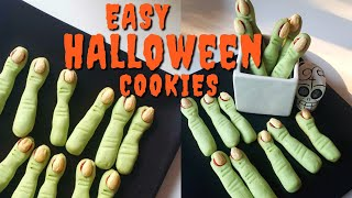 Easy Halloween Cookie Recipe:: Tasty Witch Fingers